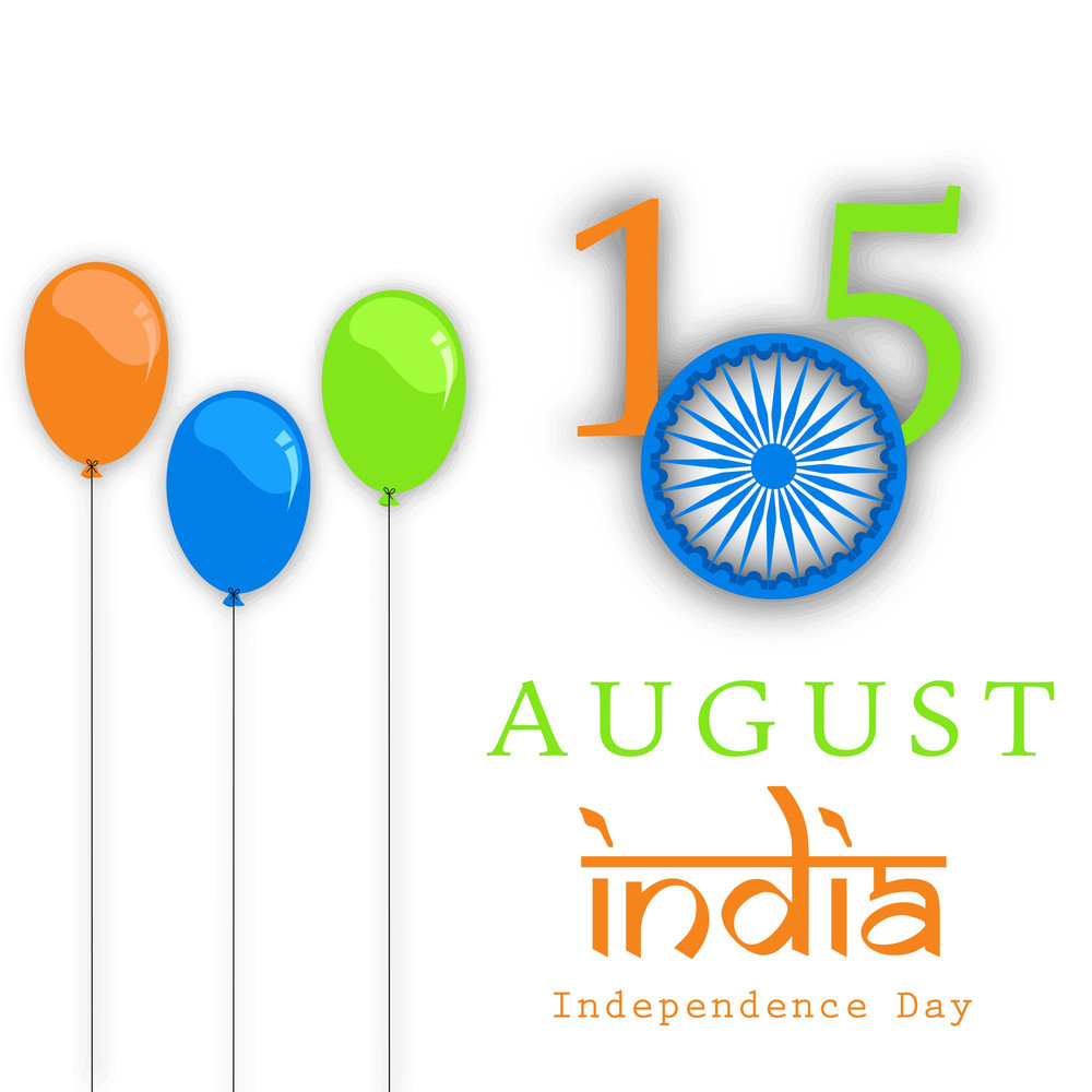 Indian Independence Day 15th August Background