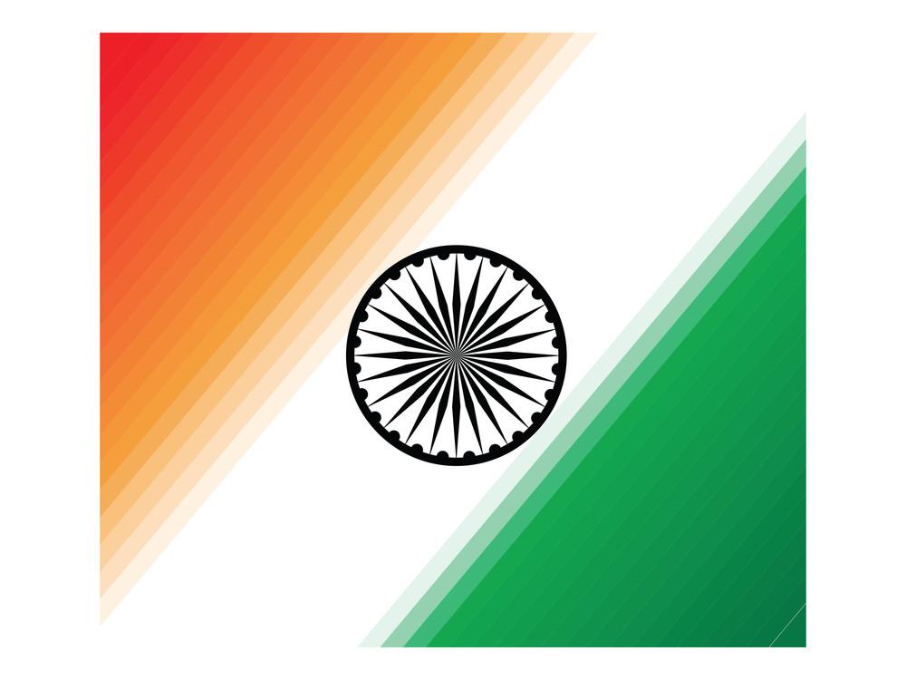 Indian National Flag Illustration
