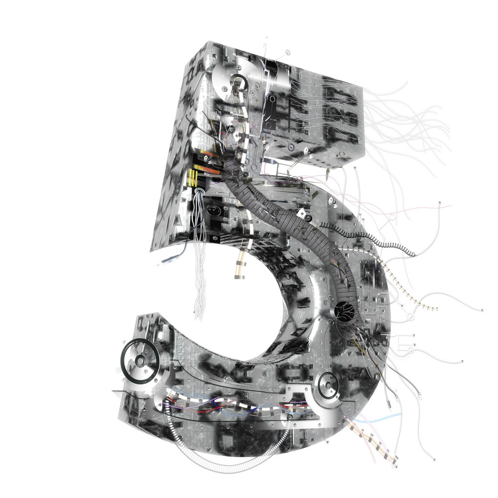 Industrial 3d Number