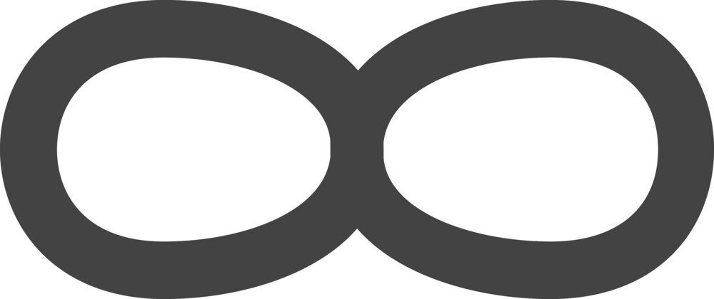 Infinite Glyph Icon