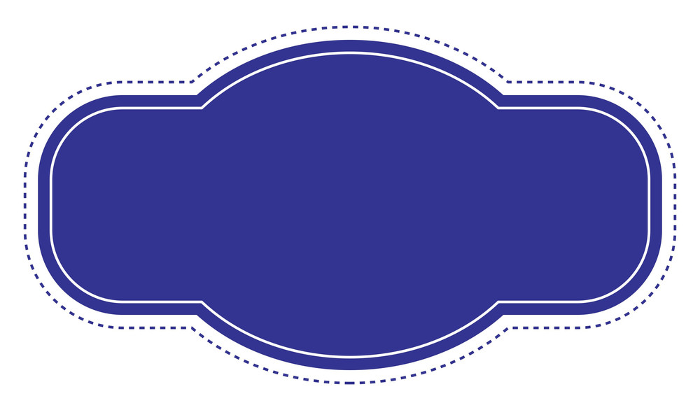 Information Label Banner