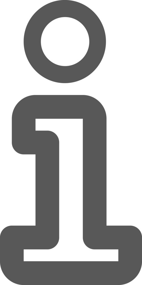Information Symbol Stroke Icon
