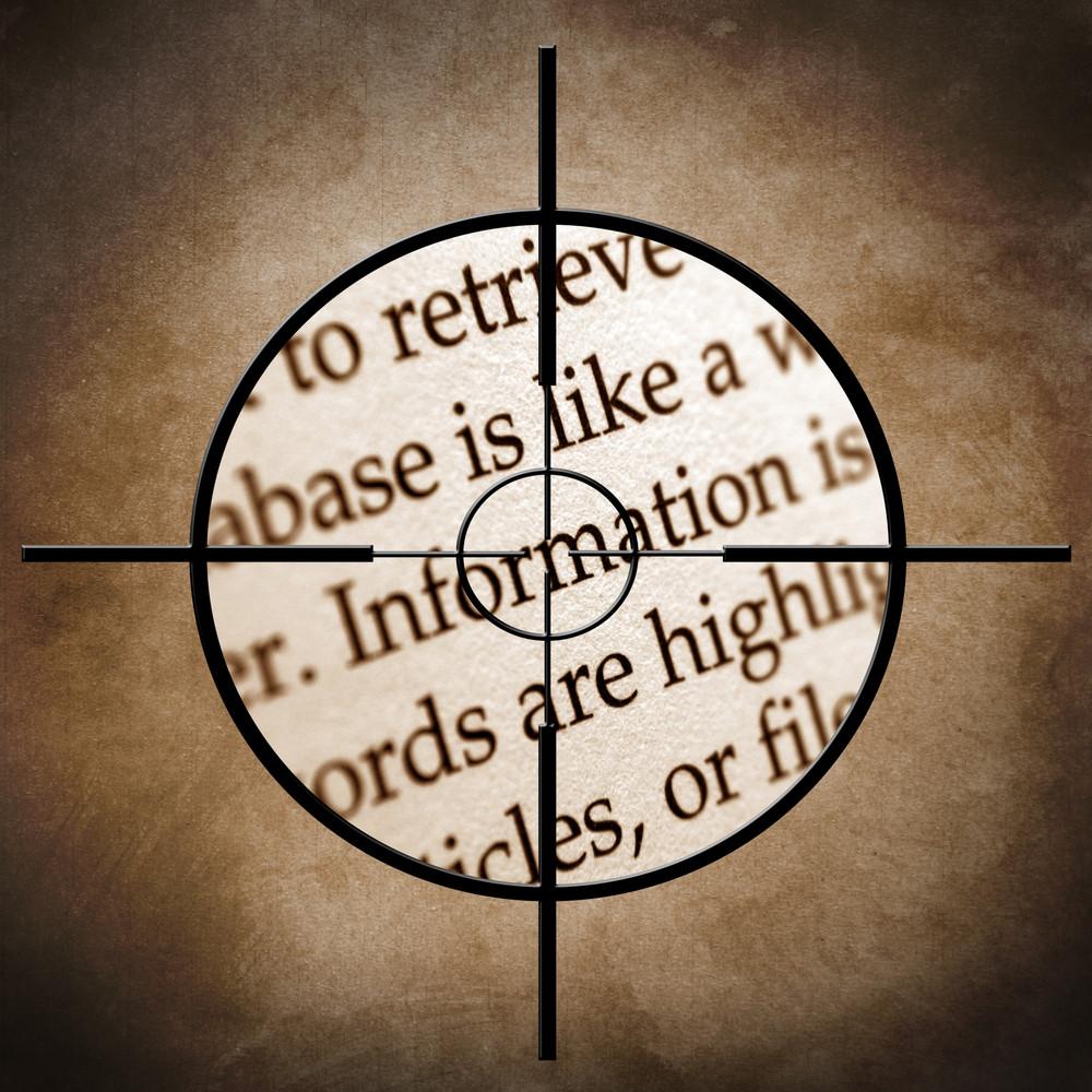 Information Target