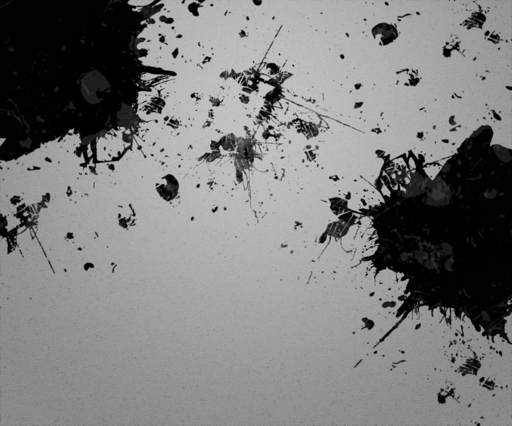 Ink Spots On Paper