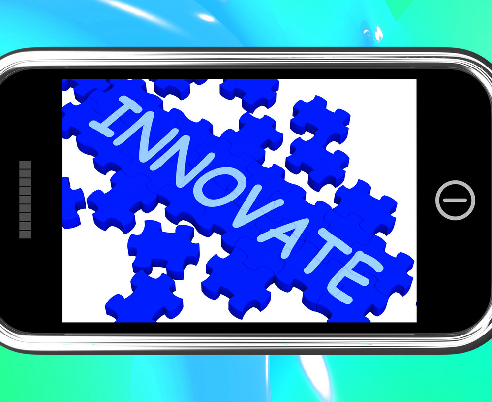 Innovate On Smartphone Shows Creativity