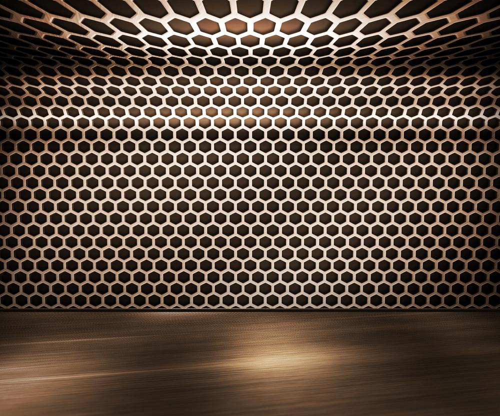 Interior Metal Background