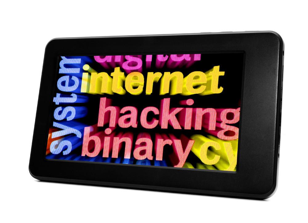 Internet Hacking Concept