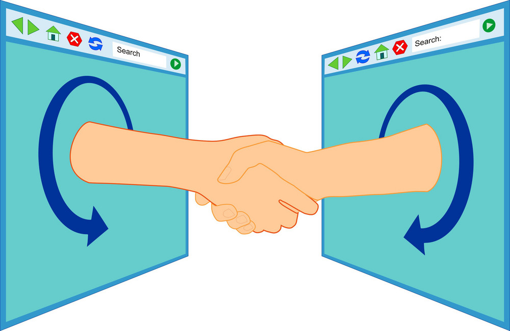 Internet Handshake Over Window