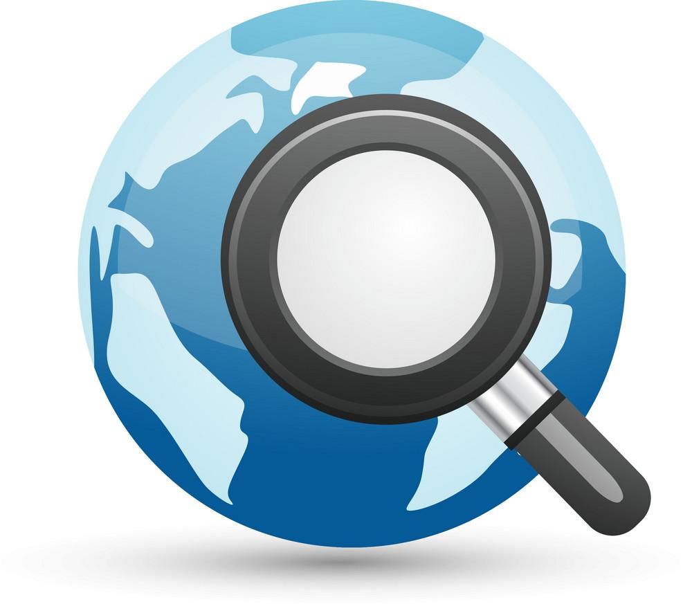 Internet Search Lite Computer Icon