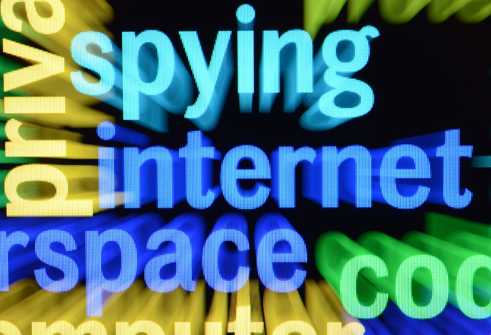 Internet Spying Concept