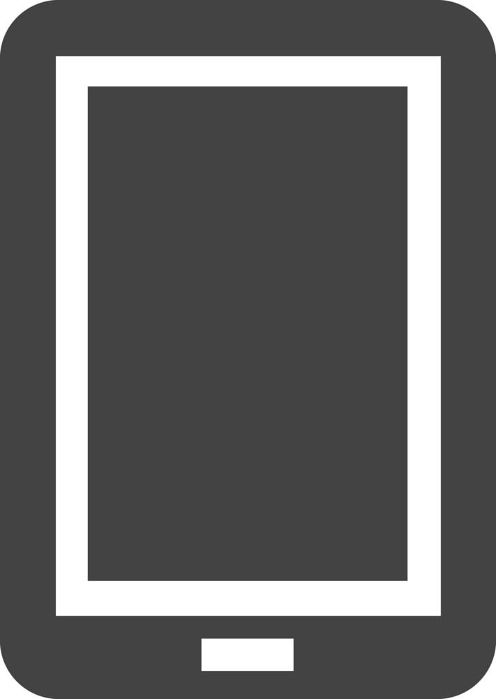 Ipad Glyph Icon