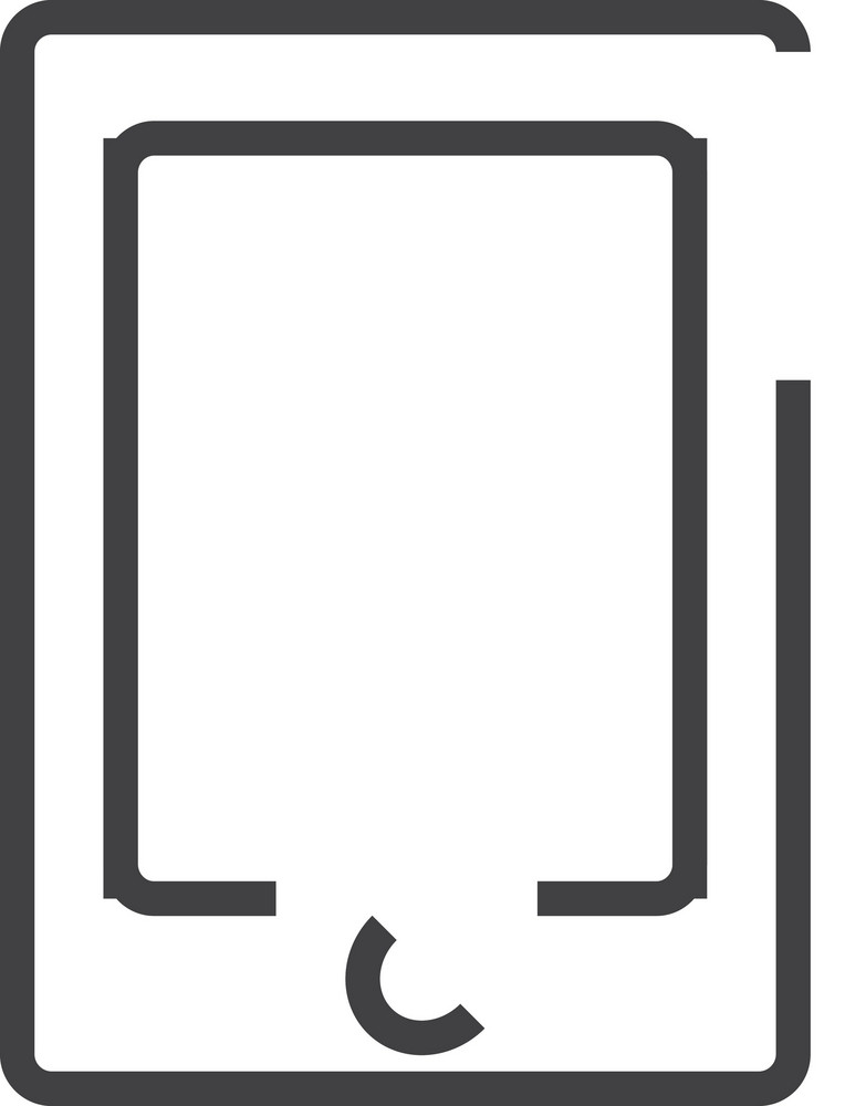 Ipad Minimal Icon