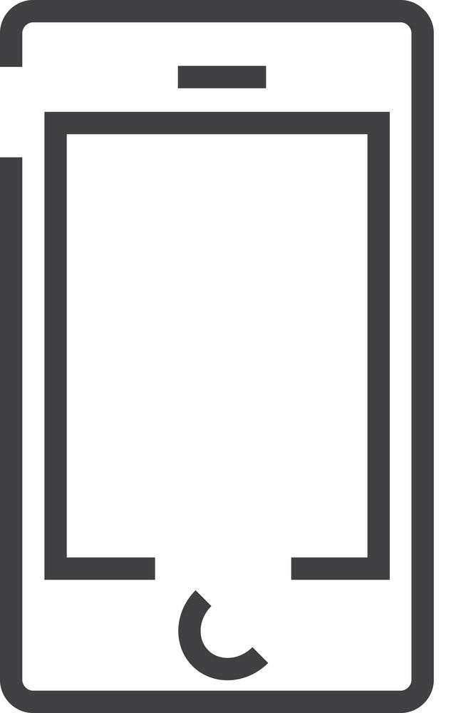 Iphone Minimal Icon