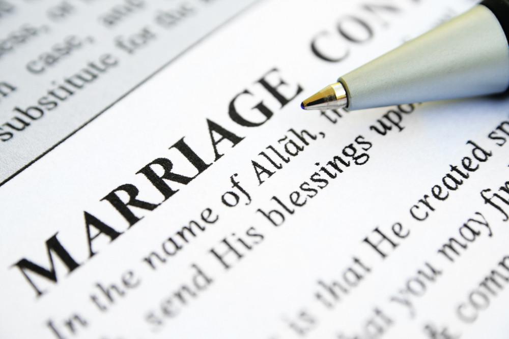 Islamic Marriage Certificate