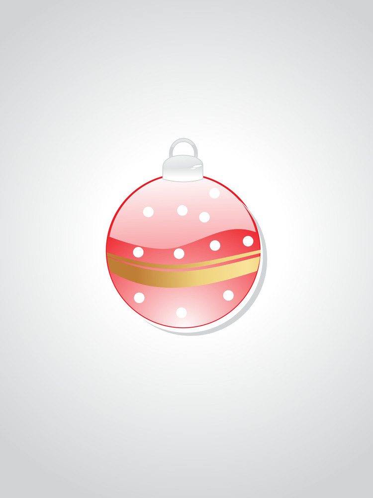 Isolated Hanging Ball With Background