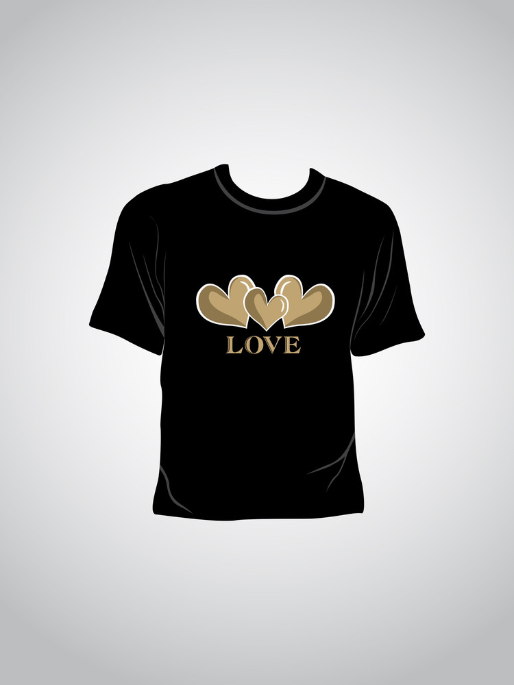 Isolated Love Concept Tshirt