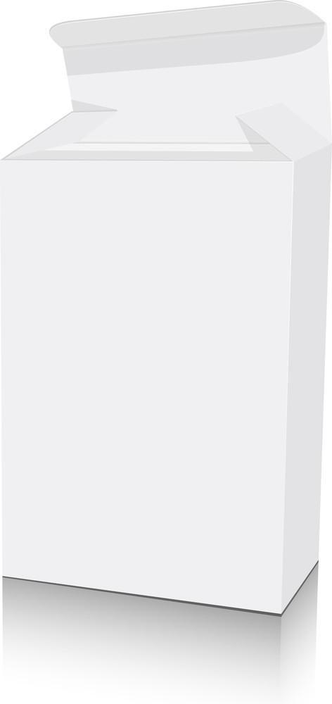Isolated White Box