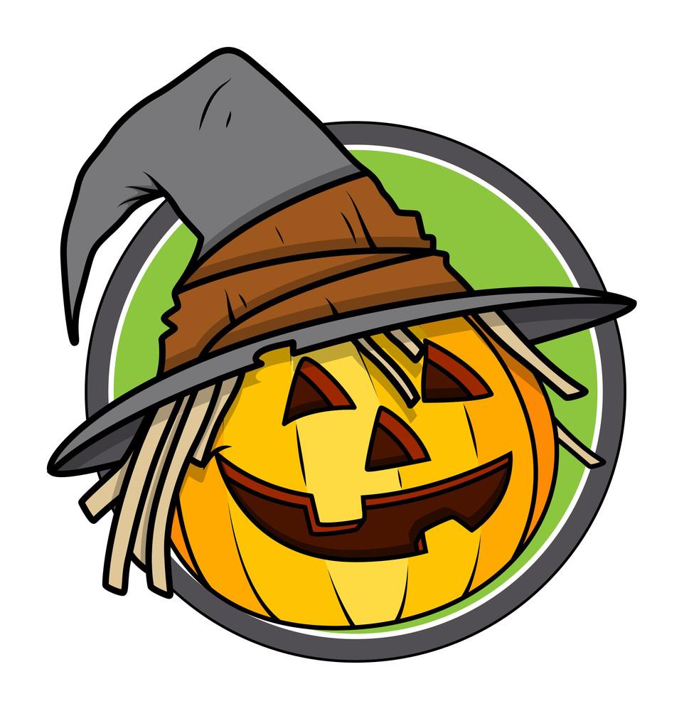 Jack O' Lantern - Halloween Vector Illustration