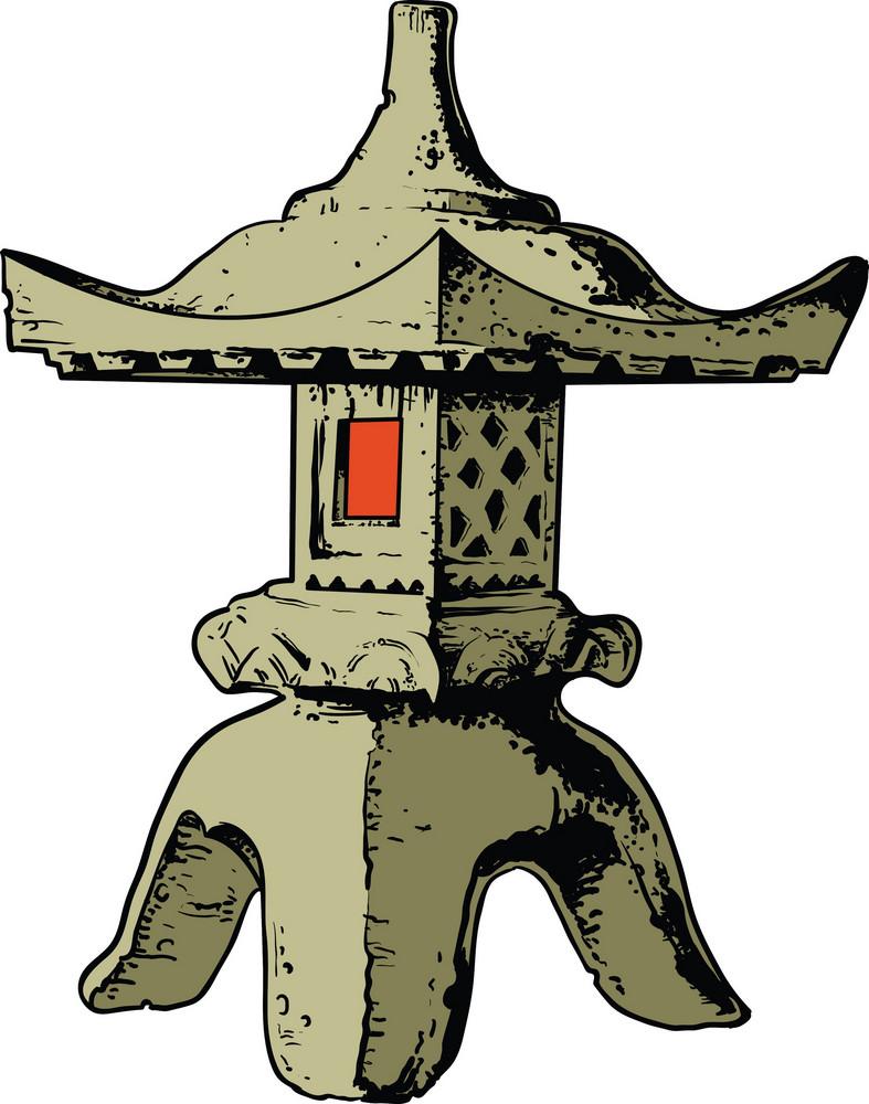 Japanese Vector Monument