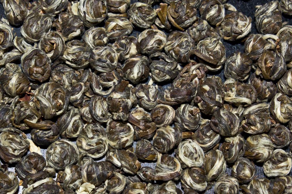 Jasmine Tea Pearls Texture