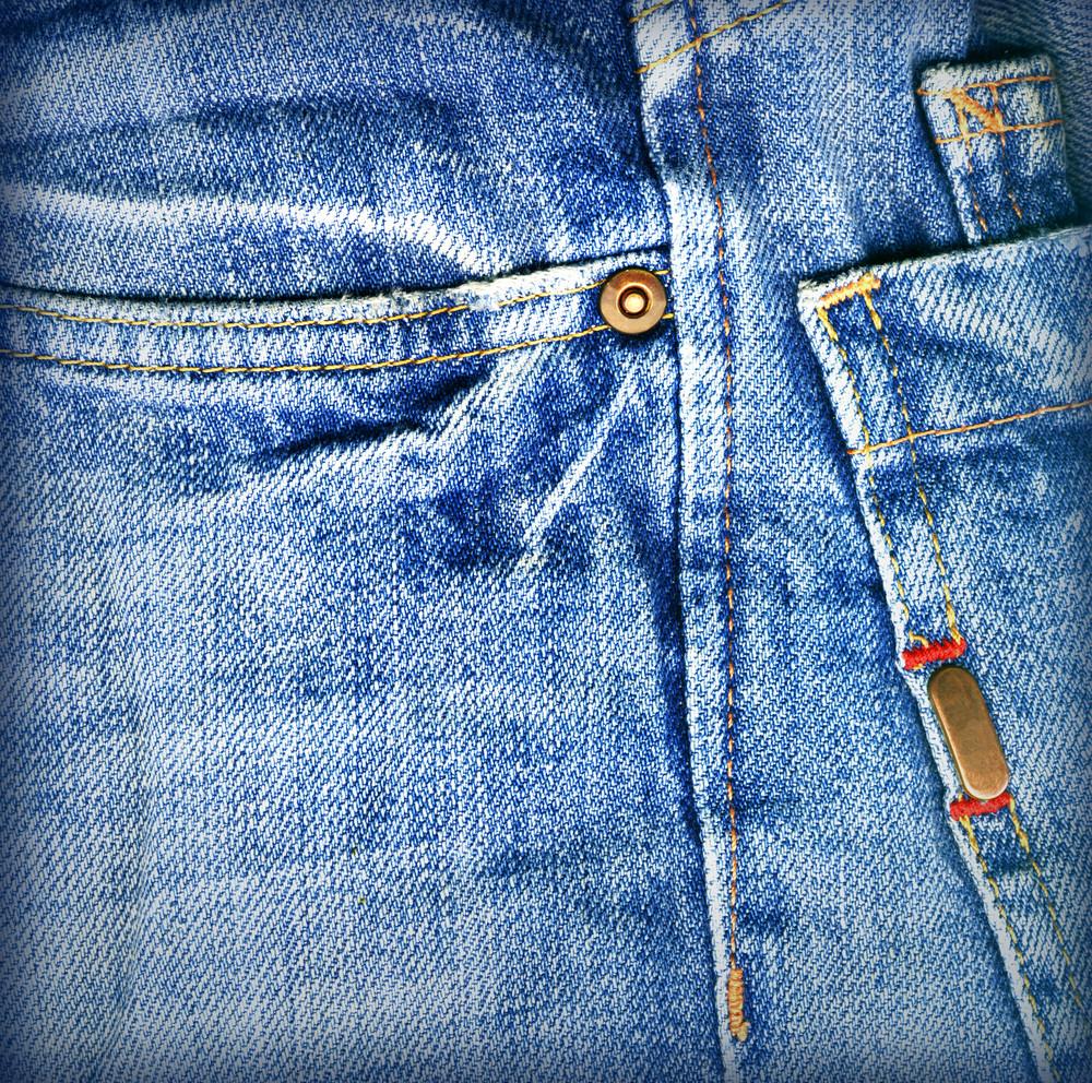 Tecido de calças de ganga