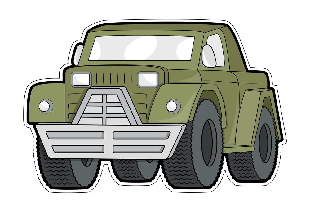 Jeep Vector Sticker