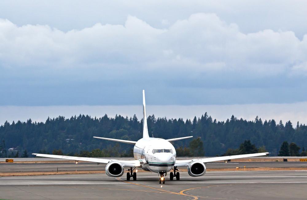 Jet At Airport