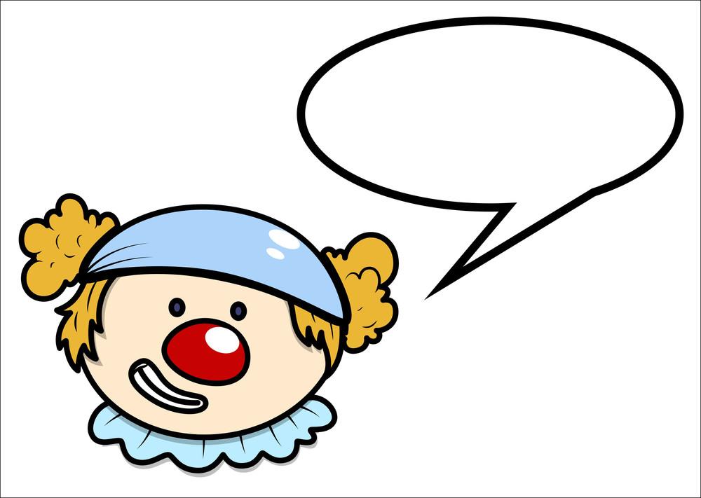 Joker - Saying - Speech Bubble - Vector Cartoon Illustration