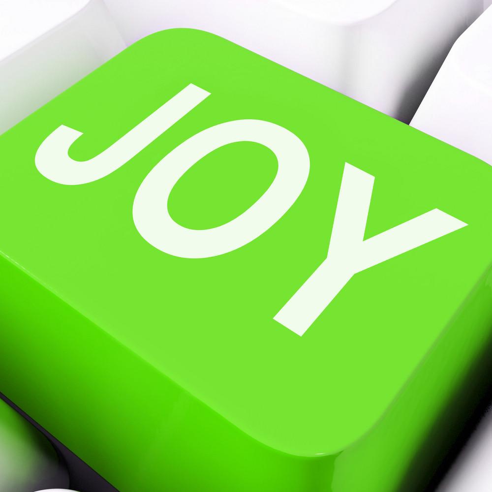 Joy Keys Mean Enjoy Or Happy