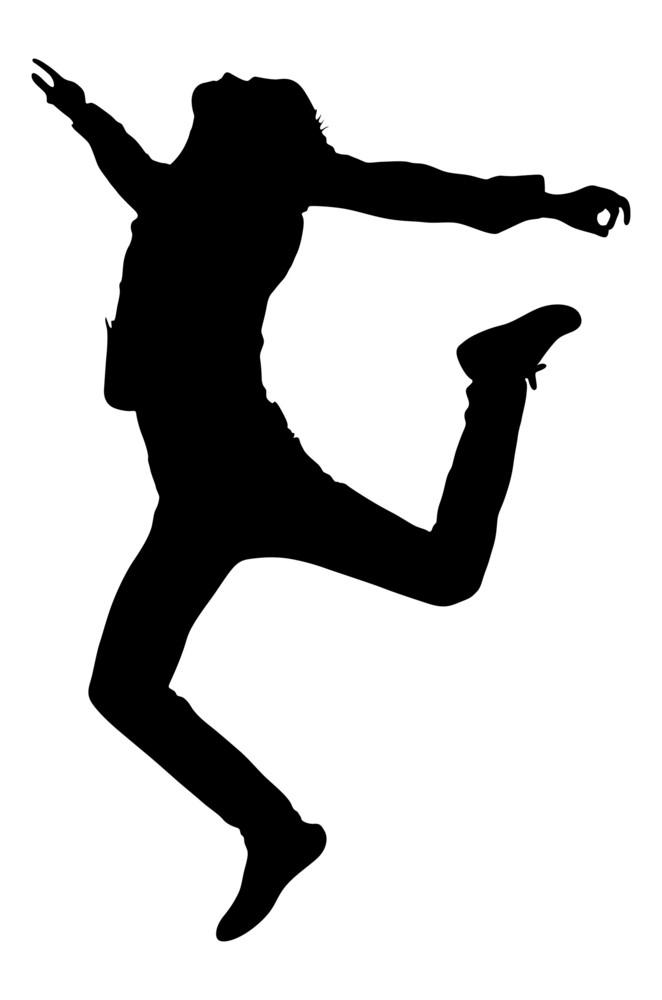 Jumping Boy Shape