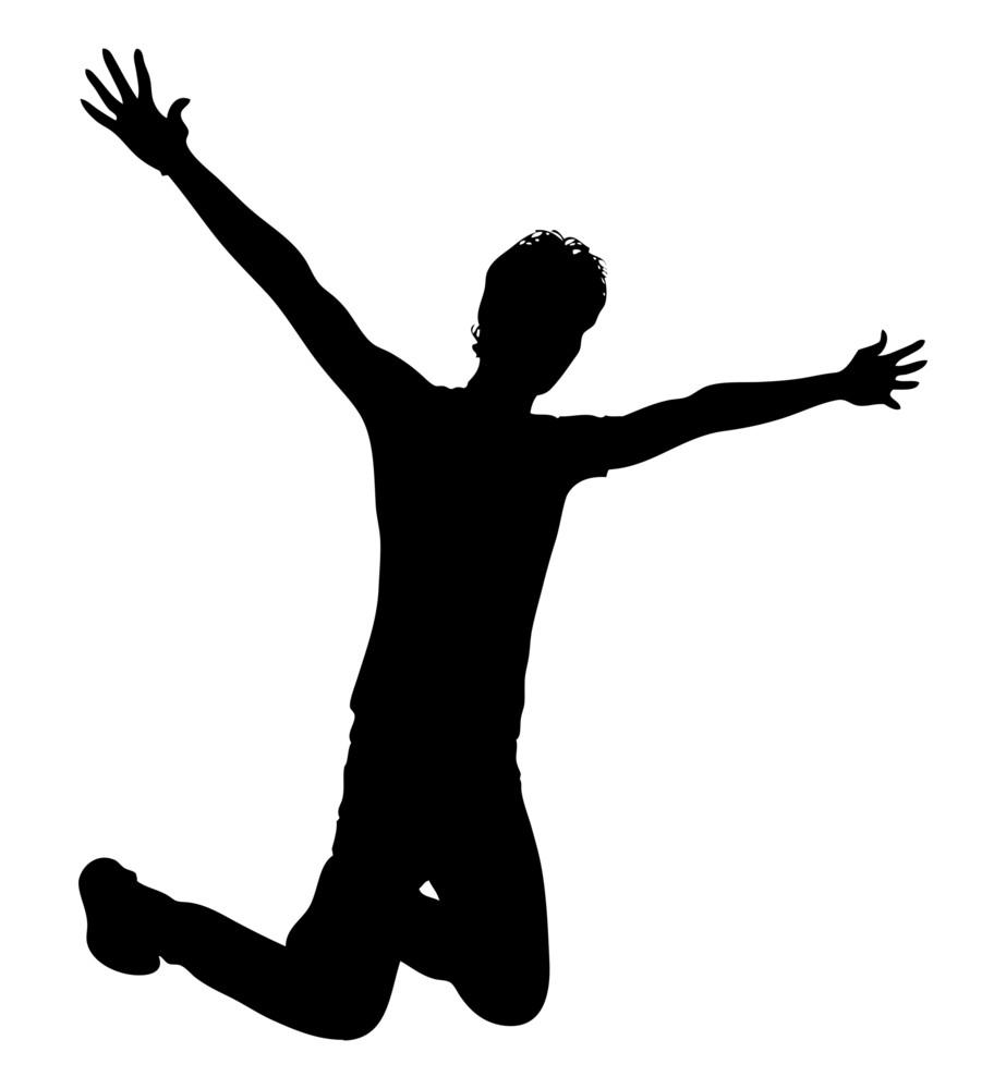 Jumping Happy Boy
