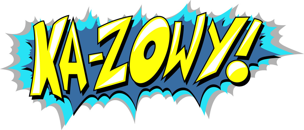 Ka Zow - Comic Expression Vector Text