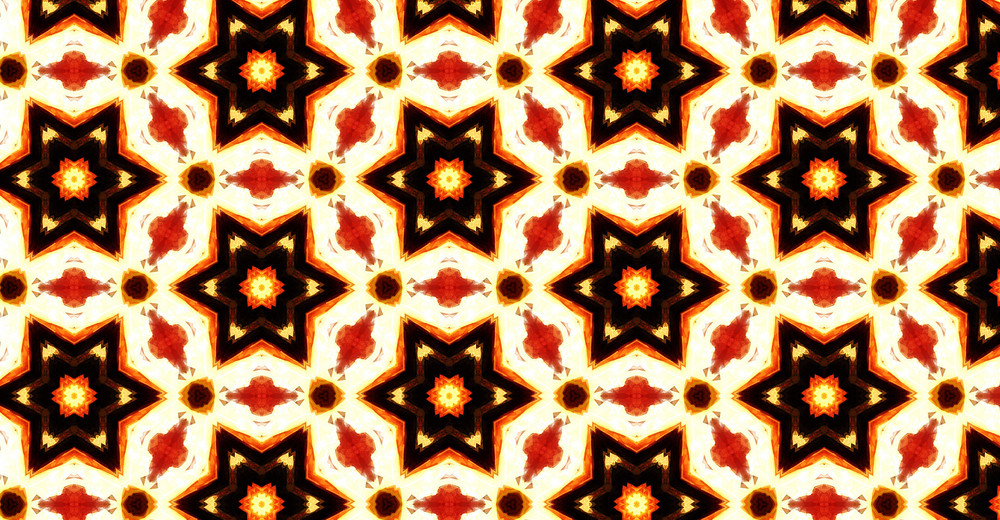Kaleidoscope Abstract Graphic