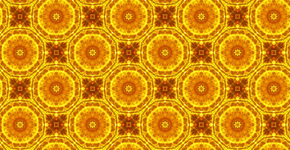 Kaleidoscope Decor Pattern