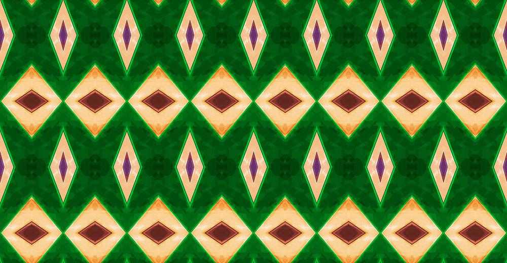 Kaleidoscope Patrick's Day Graphic