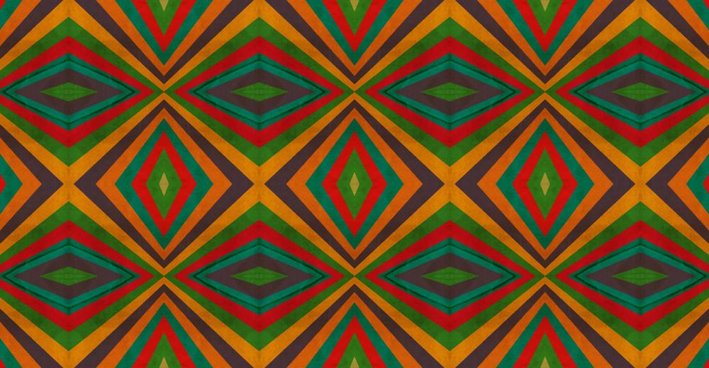 Kaleidoscope Retro Graphic