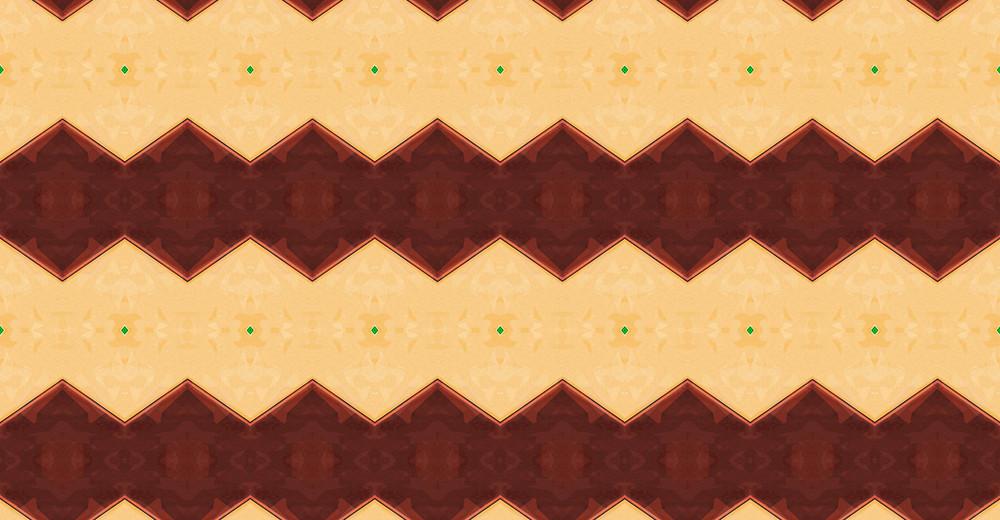 Kaleidoscope Retro Pattern