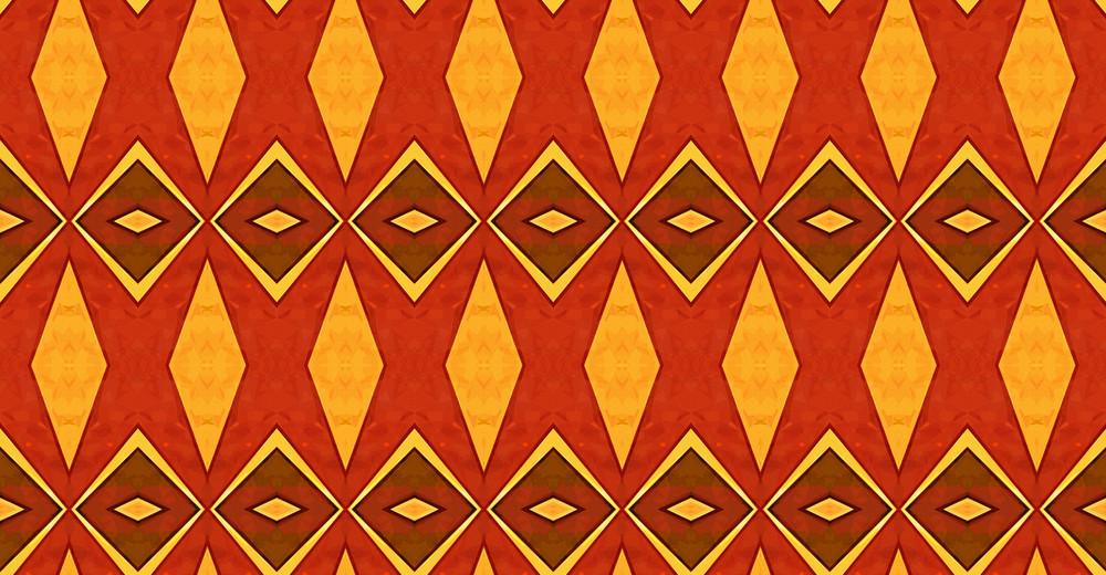 Kaleidoscope Vintage Graphic Backdrop