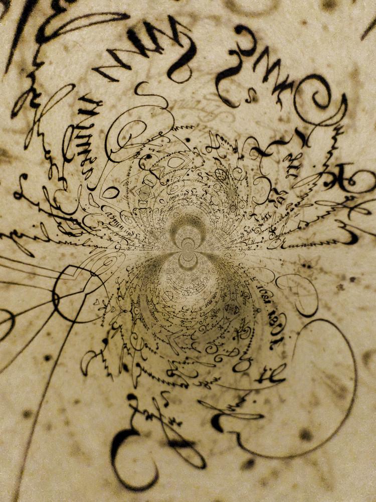 Kaleidoscopic Handwriting
