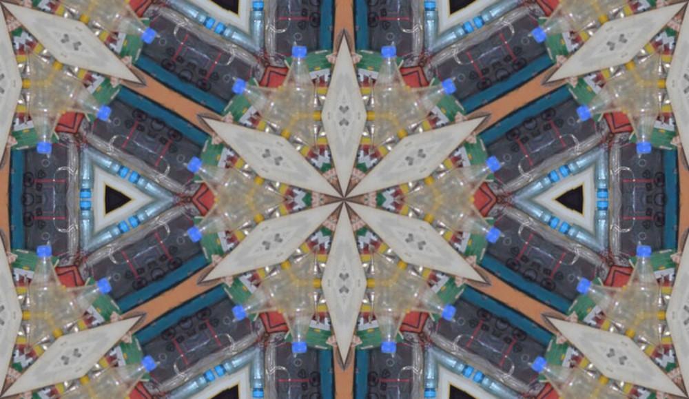 Kaleidoscopic Pattern Backdrop