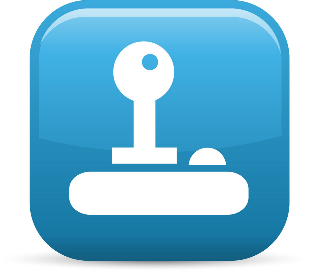 Key Unlock Elements Glossy Icon