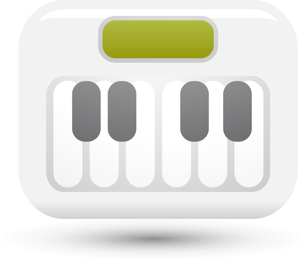 Keyboard Synthesizer Lite Music Icons