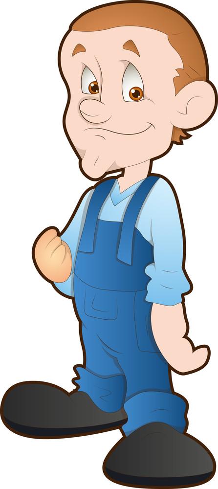 Kid - Cartoon Character