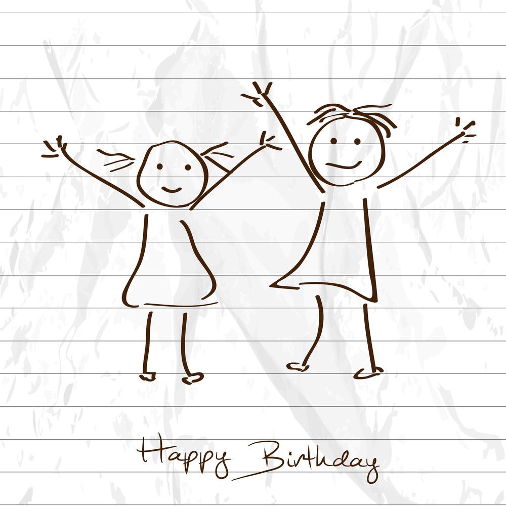 Kiddish Happy Birthday Background