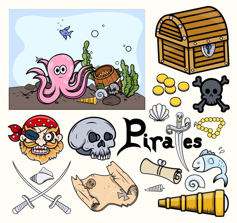 Kids Vectors - Treasure Hunt