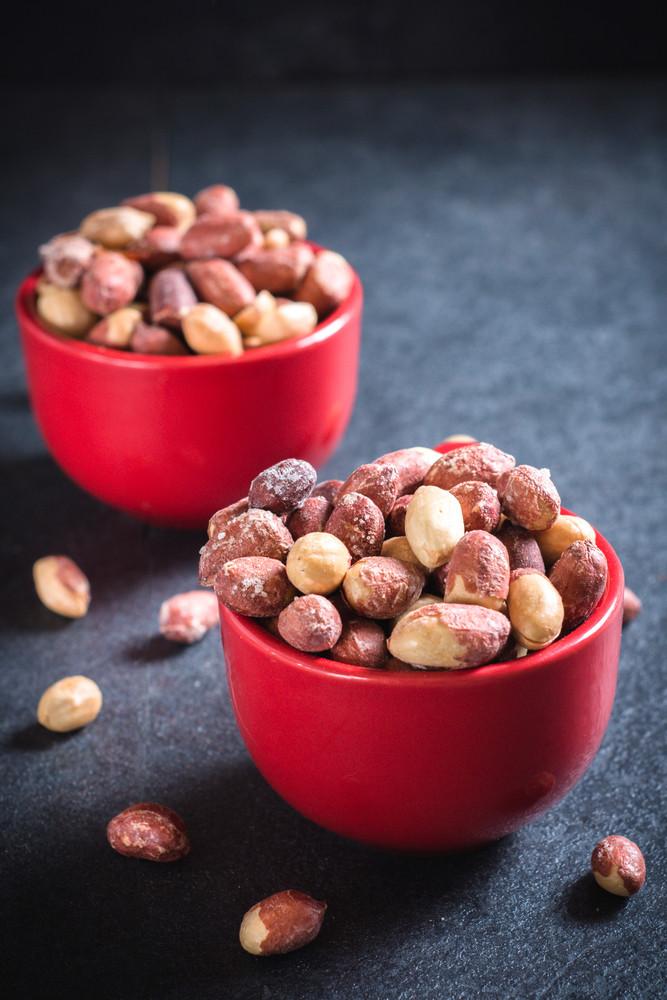 Peanuts In Cups