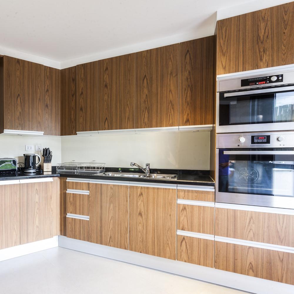 Kitchen room interior architecture