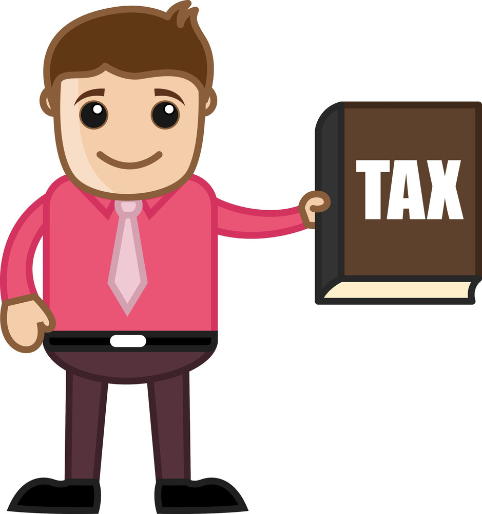 Know Your Tax Concept - Business Cartoon