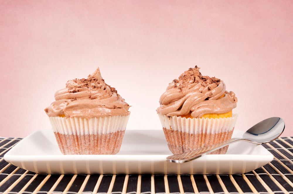 Schokoladen-kleine Kuchen