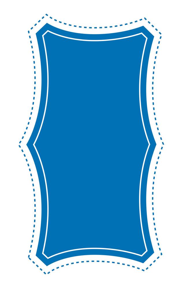 Label Banner Vector